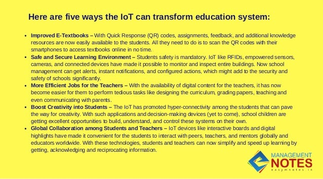 internet of things education pdf