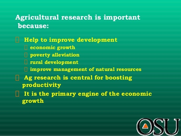 the role of extension in agricultural The purpose of this study was to determine the contribution of agricultural extension service on household food security in nandi county the specific objectives of the study.