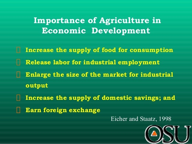Importance of Agriculture in Indian Economy