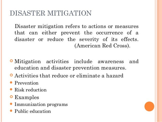 sharing responsibility during disaster management