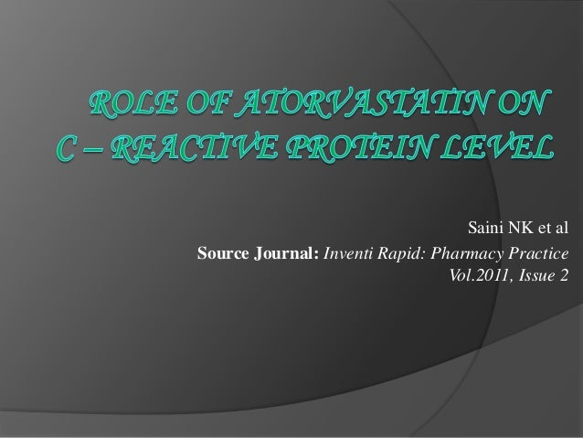 Saini NK et al Source Journal: Inventi Rapid: Pharmacy Practice Vol.2011, Issue 2