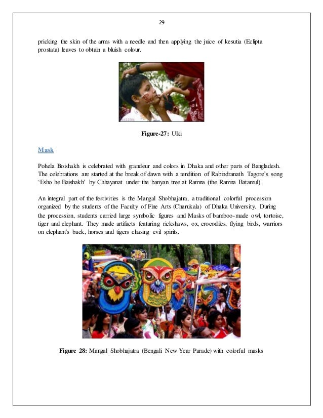 Role of bangladeshi folk culture in the development and