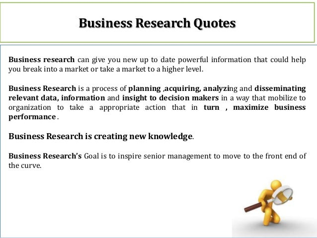 Role of Business Research in Mining & Metal industry Slide 3