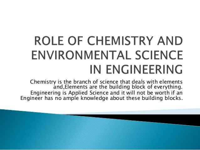 Role of science in building a