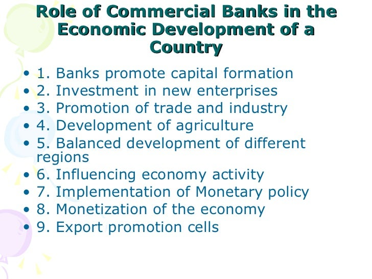 role of banks in indian economy essay Free banking papers, essays should a one industry play such an imperative role in the economy focus on indian banking environment - introduction.