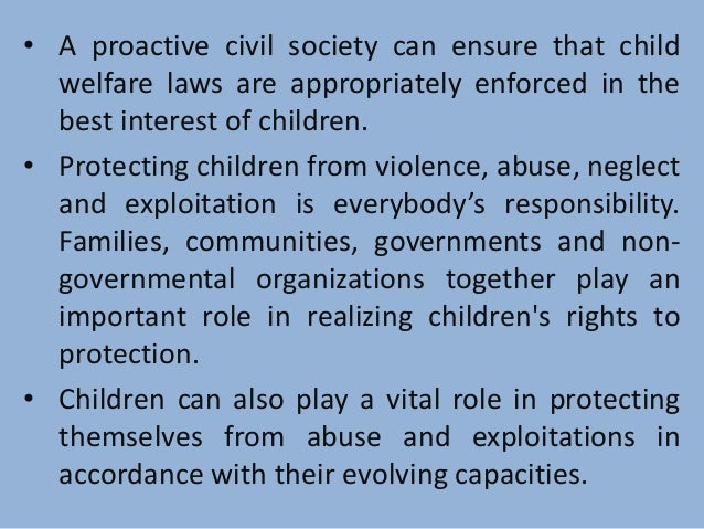 protecting children is everybodys responsibility essay Everybody's responsibility is nobody's responsibility expansion of idea - 1070524.