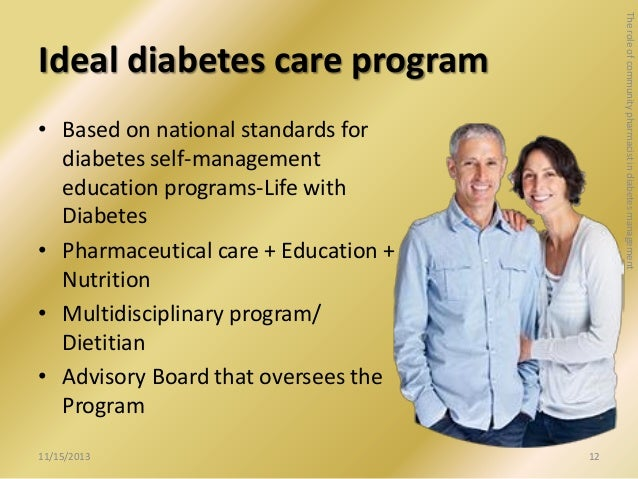 Diabetes marketing education