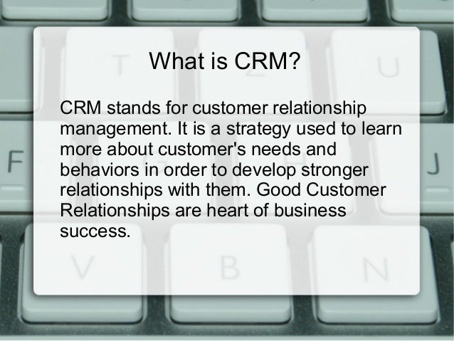 role of crm in retail Crm and the retail industry writen by: benjamin scribner last updated: 11/16/03 wwwbensplacecom page: 2 of 9 abstract this paper discusses the strategic significance and applications for.