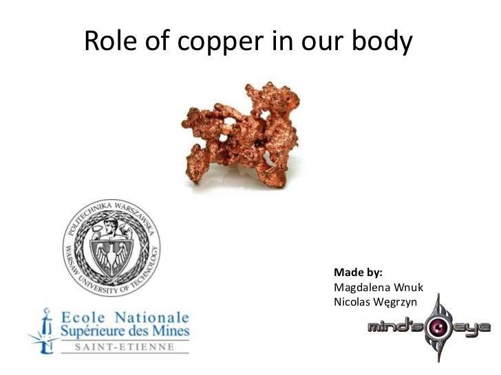 Copper - Cu