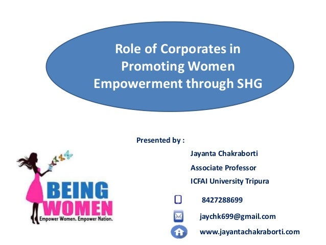 male role in female empowerment Why is gender equality and rural women's empowerment central to the work of   support to men and women beneficiaries, with a focus on the different roles.