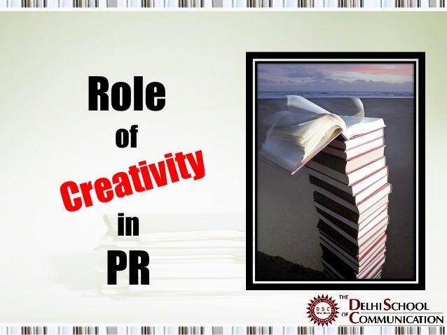 Role    of      tiv it yC rea     in   PR