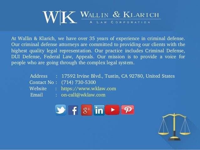 Best Criminal Attorney Orange County