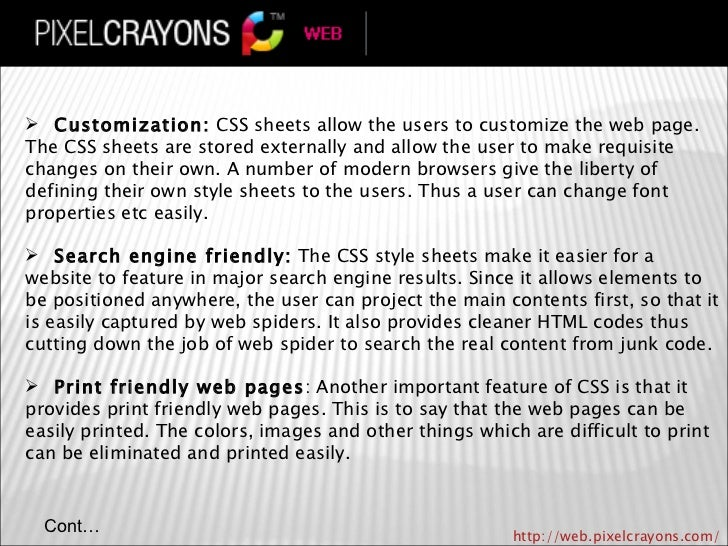 Role Of Css In Web Design