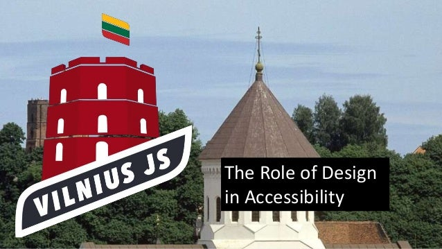 The Role of Design in Accessibility