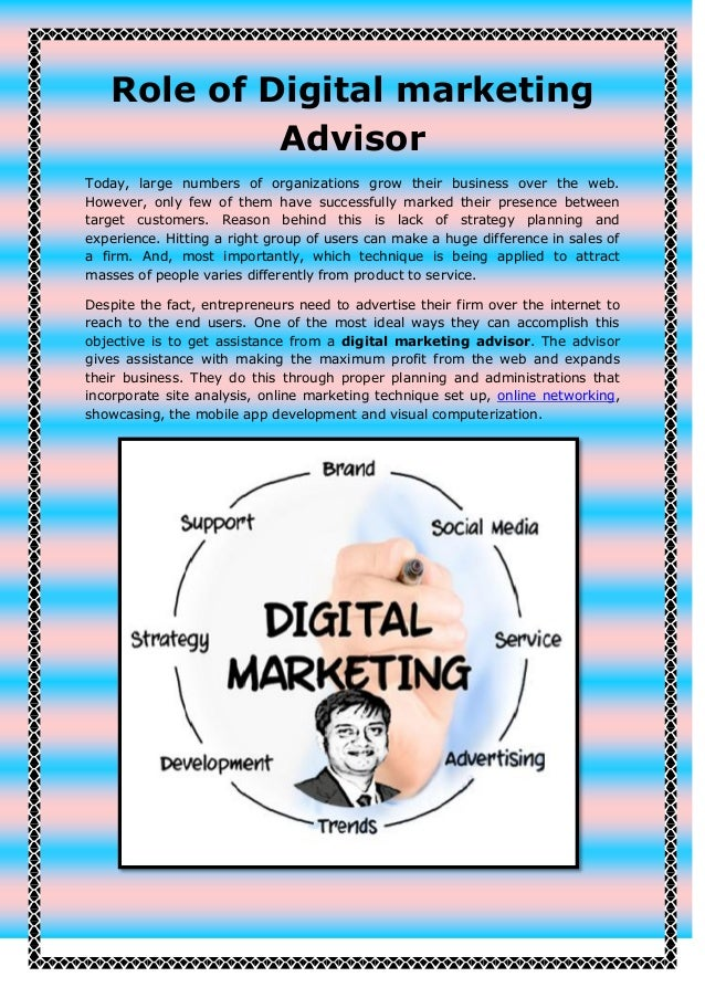 role of marketing in an organization pdf