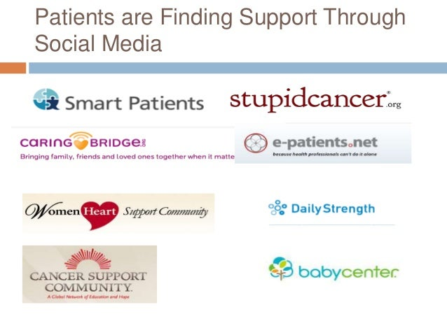 Patients Use Social Media to Seek Health Information 32
