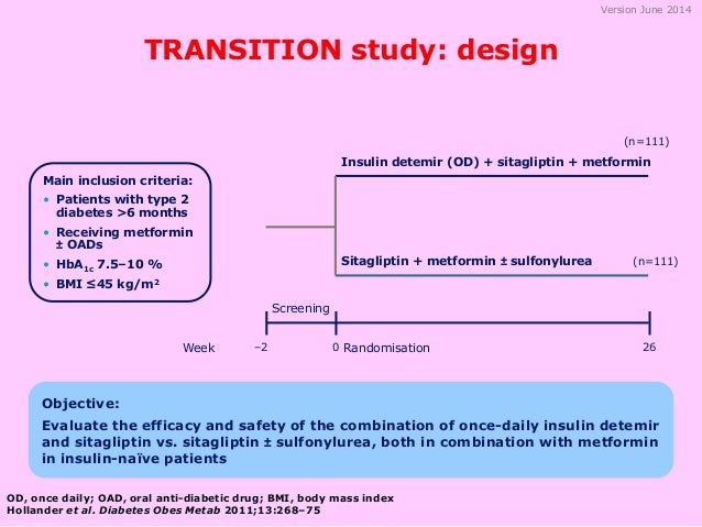 transition from insulin to metformin