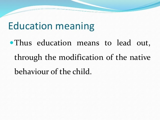 role of education in human life Providing life-saving medicines to the poor  unesco » social and human  sciences » fight against discrimination » role of education  education should  be a means to empower children and adults alike to become active participants  in.