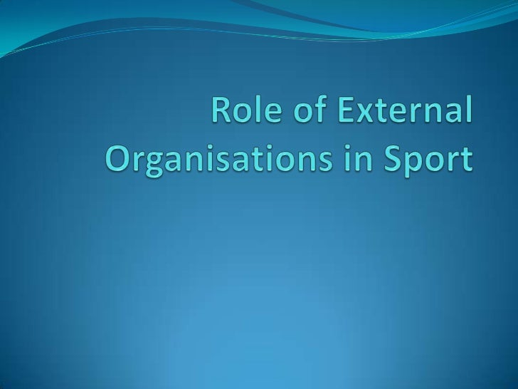 Overview There are a number of external organisations that have a role in providing support and progression to performers...