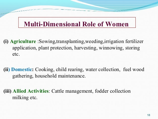 an introduction to the importance of increase of women participating in the labour force I introduction the majority of south asian women work from dawn to dusk yet their work  female labour force participation has an important contribution in socio .