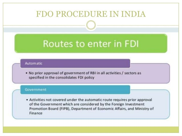 role of fdi fii in Of the different types of financial inflows, the foreign direct investment (fdi) and foreign institutional investment (fii)) has played an important role in the process of development of many economies.