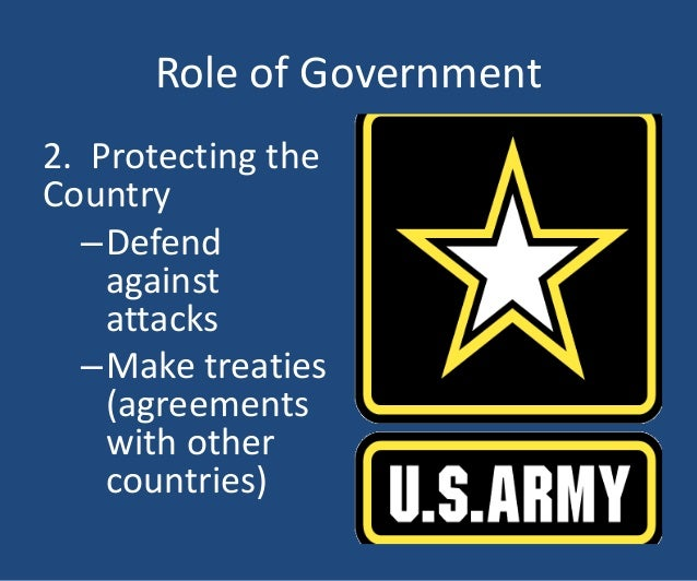 what is the role of government Government is the authority that tightly controls every aspect of a society government pays no attention to basic human rights and focuses solely on economics.