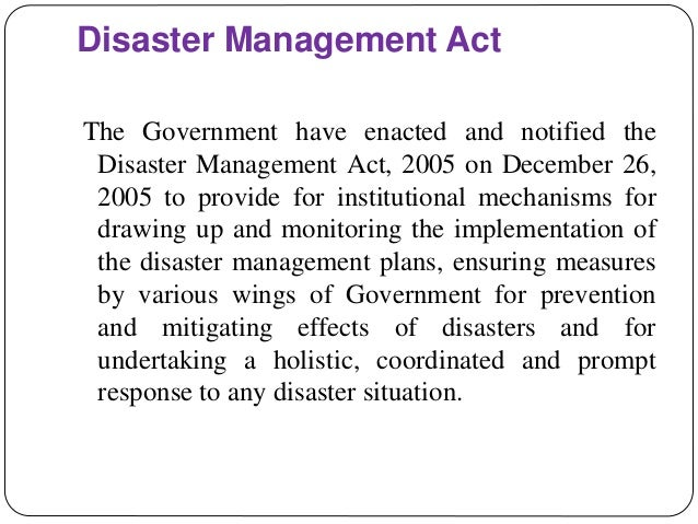 Disaster Risk Management In China And Japan
