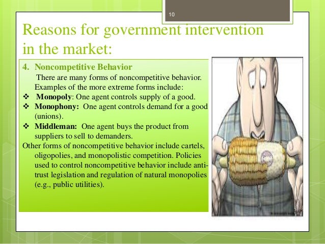 government intervention occurs in markets to Is government intervention creating the wrong type of new business the idea of countries taking a more interventionist approach to fast-tracking the growth of business sectors and ecosystems with high potential is gaining ground around the world from silicon valley to tel aviv there are now legion examples of initiatives that were originally government.