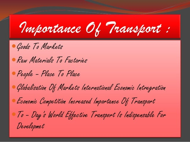 Role of port authorities in international transportation essay