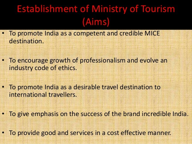 Role of Government in Tourism