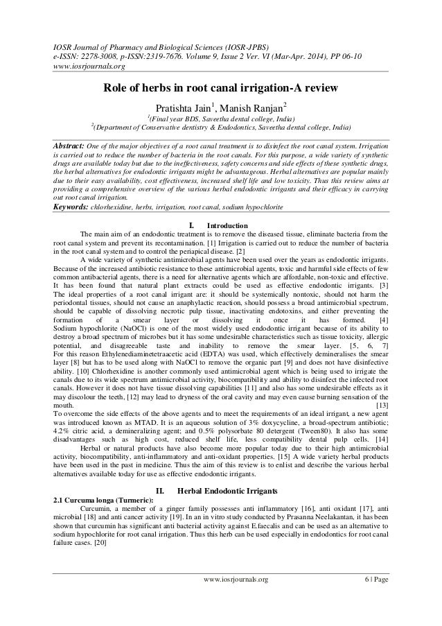 IOSR Journal of Pharmacy and Biological Sciences (IOSR-JPBS) e-ISSN: 2278-3008, p-ISSN:2319-7676. Volume 9, Issue 2 Ver. V...