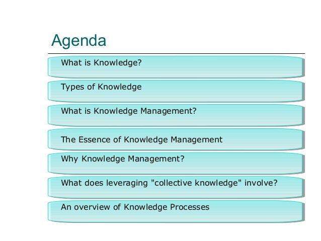what is knowledge management Knowledge management (km) is a discipline with processes involving the comprehensive gathering of information or knowledge, its organization, development and analysis, and sharing it with the goal of effective utilization.