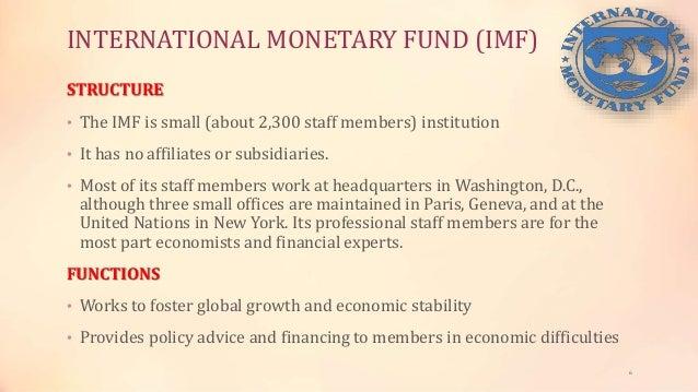 Role of IMF & World Bank & New Development Bank