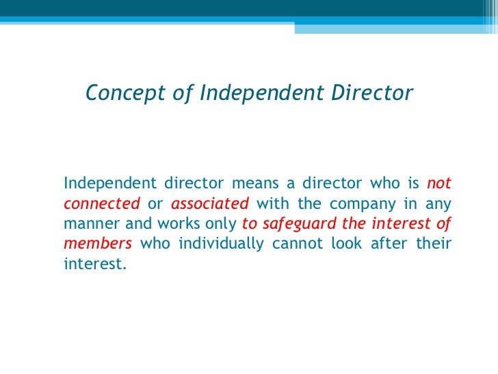 role of independent director in corporate Corporate governance – lead independent director  the lead independent  director performs the following responsibilities: board culture serves as liaison .