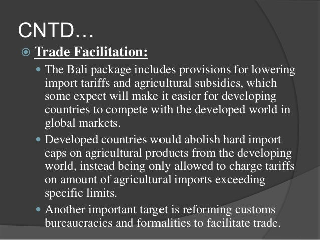 what is the role and impact of trade in developing countries The rise and role of ngos in sustainable development  the world trade organization's definition  for example access to aids drugs in developing countries.