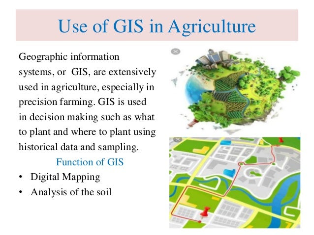Role Of Information Technology In Agriculture