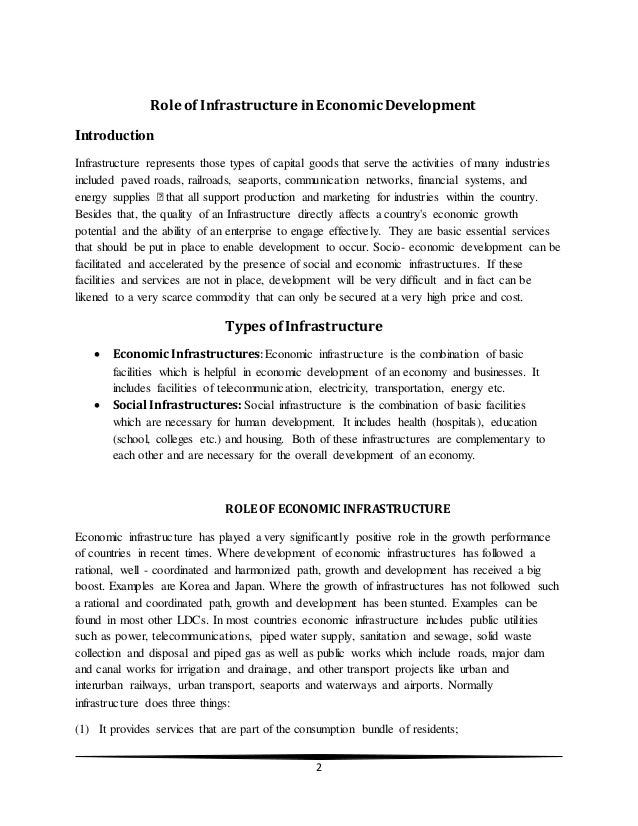 the role of education in economic development The role of education in economic development till recently economists have been considering physical capital as the most important factor determining economic growth and have been recommending that rate of physical capital formation in developing countries must be increased to accelerate the .