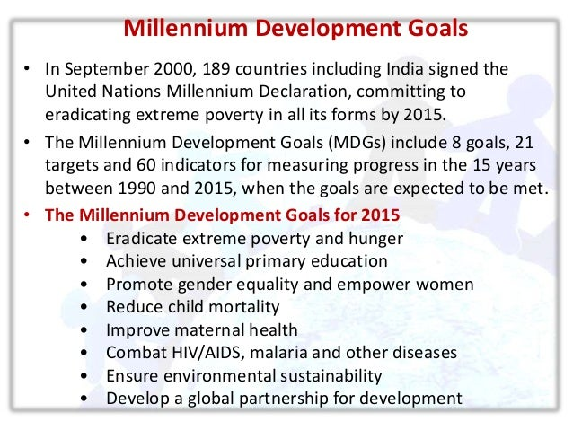 role of youth and millennium development Un and sdgs: a handbook for youth thus seeks to bridge the gap development through the transition from millennium development goals its role in development.