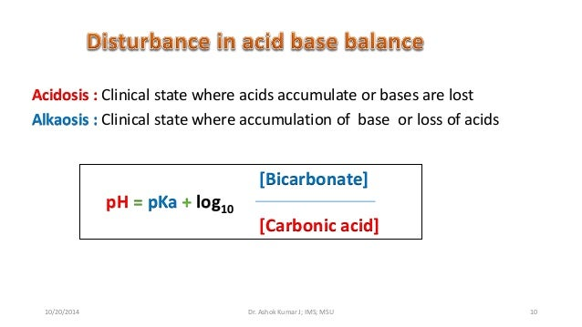 exercise 10 acid base balance Fluids, electrolytes and acid-base balance todd a nickloes, do acid/base balance exercise causes k+ to move out of cells 59.