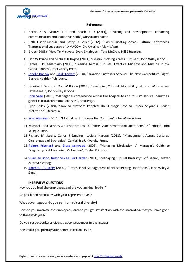 diversity papers essays