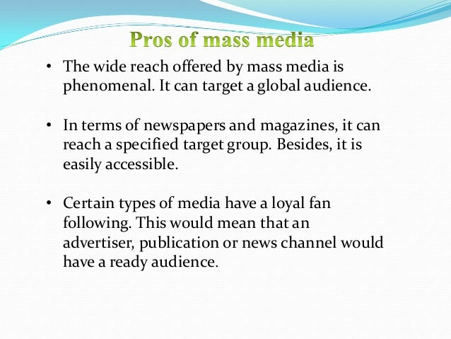 mass media role in malaysia Antidrug mass media campaigns  or stopping the illicit drug use of young  media interventions based on this theory would promote positive role models or.