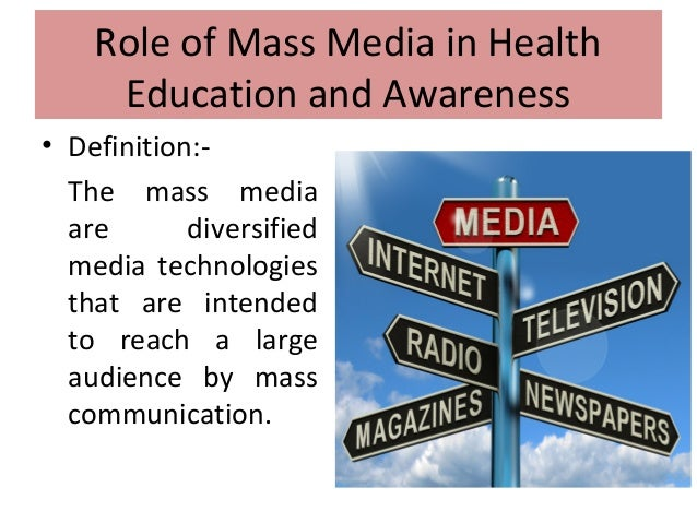essay about role of media in education Role of media in educating people media denotes an item specifically designed to reach a large audience or viewersin the world of today, media has become.