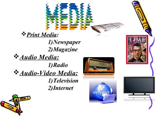 role of print media