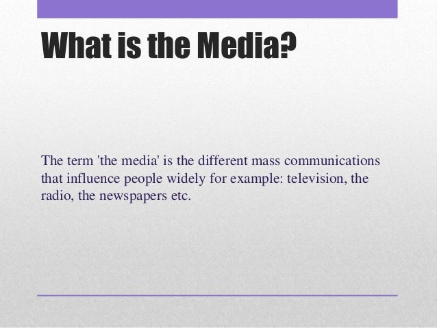 the role of media in our life Identify the role of media in our culture from celebrity gossip to magazine covers to memes, media is telling us something, shaping our understanding of the world, and even compelling us to act or think in certain ways.