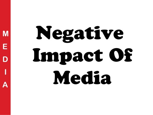 Image result for media's negative role
