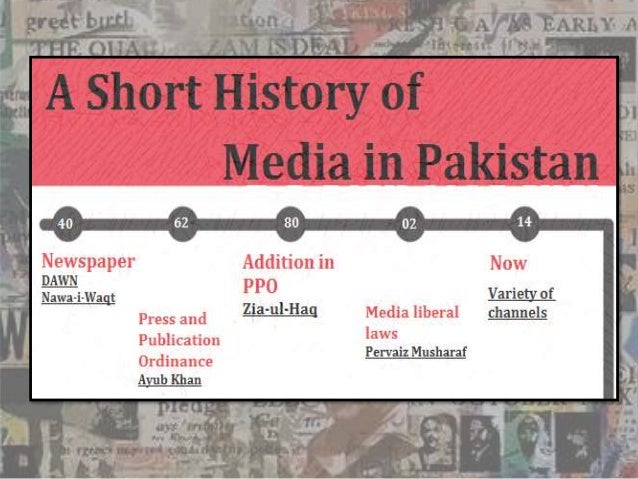 media role in pakistan When quaid-e-azam waged the constitutional struggle for independence, he  imagined a constructive role of the press in the new country.