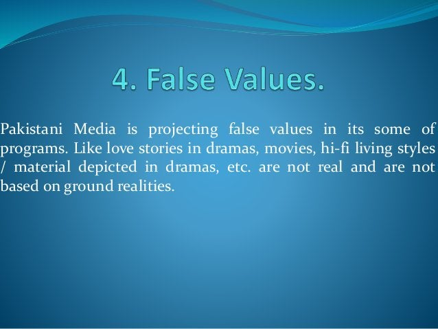 Role of media in Pakistan is getting quite irresponsible; as there are so many talk shows and political debates on the scr...