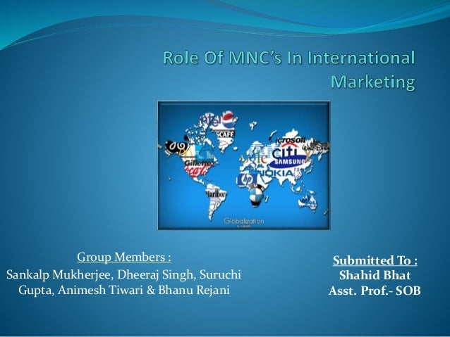 Role of Multinational Corporations (MNCs) in Foreign Investments