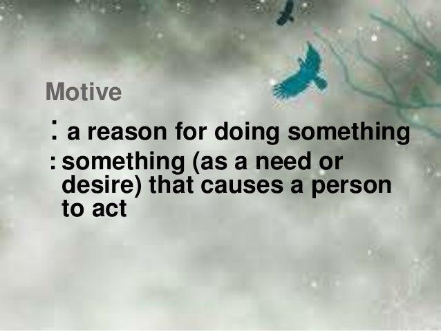 Role of motivation Slide 3