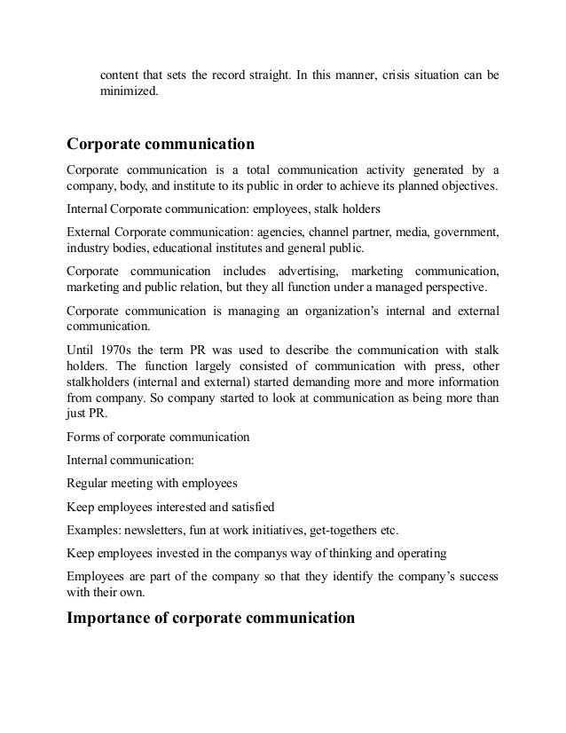 give an example of situation in which diagonal communication would be used in a company The structure of an organization should provide for communication in   organization, and informal communication – the exchange of unofficial   appraisals, and other means are used to tell departments or individuals how well  they are  for example: the school thinks of its employees as family and would  like to invite.